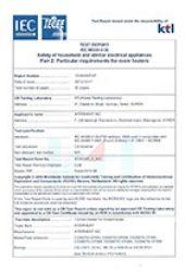 CE인증시험성적서 온실전용히터1000w이하